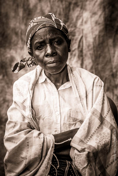 Frauenportraits in Ruanda